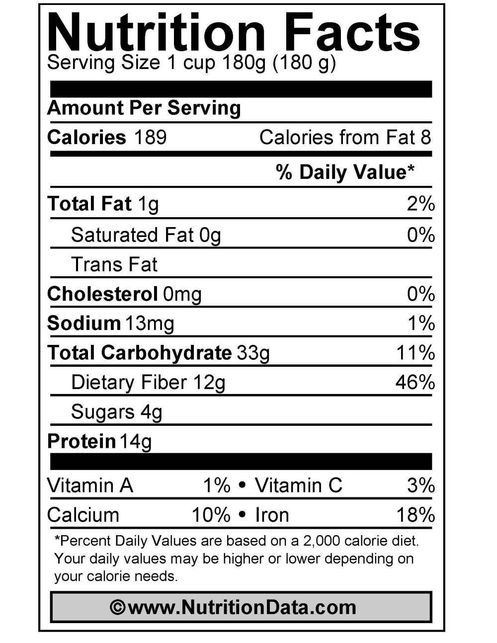 mungo_nutrition_facts_label